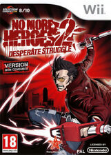 No More Heroes 2 Desperate Struggle Nintendo Wii Rising Star