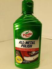 Turtle Wax All-Metal Polish 11 oz. Triple Action Formula Shines & Protects Metal