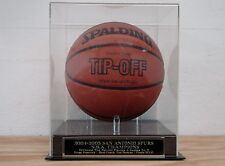 Display Case For Your San Antonio Spurs 2004-2005 Champs Autographed Basketball