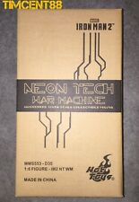 Ready! Hot Toys MMS553D35 Iron Man 2 War Machine Neon Tech Orange Diecast New