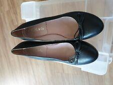 Details zu Stiefel Spitze Quadrate Ykx And Co Leder Schwarz T 40 Sehr Guter Zustand