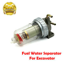 Excavator Parts Fuel Filter Sediment Bowl Assembly Water Separator For KOBELCO