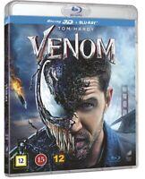 Venom 3D Blu Ray + 2D Blu Ray