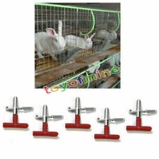 10Pcs Rabbit Water Feeder Rodent Ferret Pet Mouse Nipple Water Drinker New