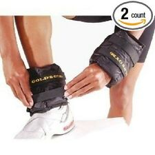 5 LBS Adjustable Ankle Weights For Wrist Arm Leg Running Exercises By Golds Gym