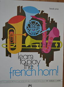 Notenheft learn to play the french horn .. book one  Guter Zustand