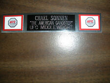 CHAEL SONNEN (UFC) NAMEPLATE FOR SIGNED TRUNKS DISPLAY/PHOTO/PLAQUE