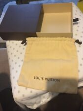 Louis Vuitton Empty Gift Box And Fabric Pouch