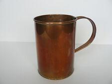 Vintage impressed QUART B Measure  Mid Century Copper