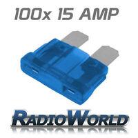 100 15AMP Standard Blade Fuses/Fuse Automotive Van / Car