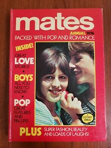 Mates Annual 1976 British hardback comic book-romance comics Queen Arrows