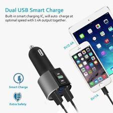 KIT BLUETOOTH AUTO TRASMETTITORE FM wireless Dual USB Charger LETTORE AUDIO MP3