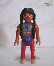 PLAYMOBIL PLAYFIGURE Native American , Indian,Western,Rare