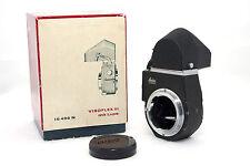 Leica leitz Visoflex III mit Lupe Sucher + Box 16498