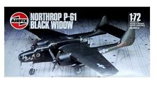 AIRFIX 04006 - NORTHROP P-61 BLACK WIDOW - 1/72 MODEL KIT - NO BOX OR DECALS