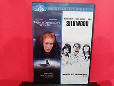 Double Feature 2 - DVD Set Silkwood & The French Lieutenant's Woman - B324