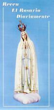 Recen El Rosario Diariamente (Paquete de 2) Folleto Guia a color como rezar el