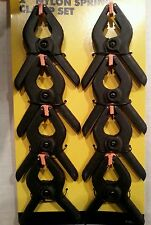 """New 8pc Plastic Nylon Spring Clamps Grips Clips Market Stall Micro SMALL Tent 2"""""""