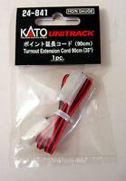 "Kato 24841 HO/N Gauge Unitrack Turnout Extension Cord 90cm(35"") 1pc. New"