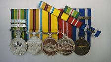 Australian Active Service Medal ICAT Afghanistan Iraq 2003 ADM NATO Medal ISAF