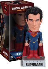 Superman - Man of Steel - Superman Wacky Wobbler NEW IN BOX