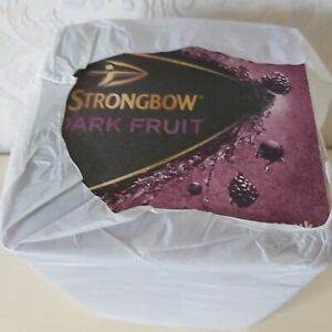 Pack of approx 100 Strongbow Dark Fruit Cider  Beer Mats - Drip Mats - Coasters