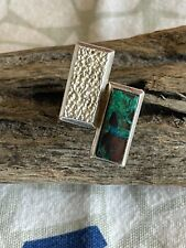 Size 6 Handmade Sterling Silver & Sonora Stone Ring