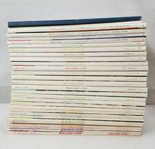 31 Martha Stewart Living Magazines, 1992-2003, Wedding, Registry, Home Inspo