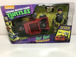 Nickelodeon Teenage Mutant Ninja Turtles - Hot Rod & Mikey Figure DAMAGED BOX