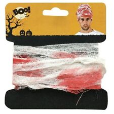 Halloween 5.4m Bloody Gauze Bandage Fancy Dress Costume Trick Treat Party Zombie