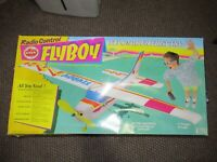 Super Rare Cox 90440 Flyboy RC Airplane In Box Missing Radio Controller