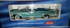 1959 MERCURY PARK LANE OPEN Diecast 10 inch SUNSTAR 1:18 PLATINUM SS 5166 BLUE