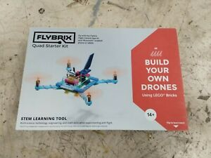 FLYBRIX Quad Starter Kit LEGO brick Drone Kit. NEW