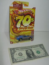 Hot Wheels The 70's - Cars of the Decades - Blue '70 Mustang Mach 1 #20 -  2010