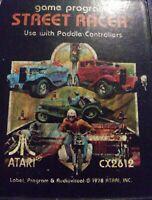 Street Racer GAME ATARI 2600 VINTAGE 1977  FREE SHIPPING