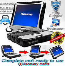 Panasonic Toughbook CF-19 MK4 i5 4GB RAM 128-500 HDD/SSD Rugged Laptop TOUCH