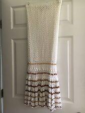 Bandolino White Crochet Skirt Medium
