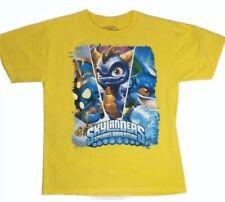 Skylanders Spyro's Adventure T-Shirt Size XL 18/20 Yellow Zap CUTE!!