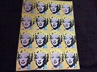Marilyn Monroe Vintage Repro Poster Print Andy Warhol Pop Hot Wall Art