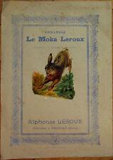 Victorian Diecut Scrap 1890s on Large 10x7 Chicoree Advertising - Rabbit/Bunny