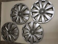 "Original VW New style (2016)  16"" set of 4 wheel trim used Good condition"