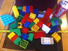 Gran Lote aleatorio ladrillos DUPLO Preescolar Clásico Original Juguete Lego Lote Paquete De Trabajo
