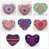Indian Mandala Pillows Heart Bohemian Home Cushion Pillows Cover Case Cushions