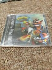 Crash Bandicoot: Warped (Playstation 1 Ps1) Lenticular 3D Holo Cover