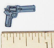 BIN B41 G I JOE Accessory        Graphite Revolver Hand gun (2003 Wild Bill V7)