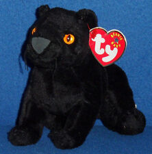 TY MIDNIGHT the PANTHER BEANIE BABY - MINT with MINT TAG