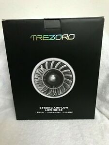 Trezoro Hair Dryer professional hairstyle Strong Airflow Low Noise Ceramic