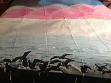 Society6 Seagulls, Ocean, Beach, Nature, Peaceful Sunset - Large Tapestry, Throw