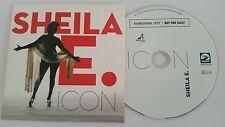 """SHEILA E """"ICON"""" EU PROMO CD PRINCE RELATED"""
