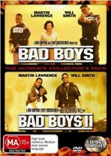 Bad Boys / Bad Boys 2 (DVD, 2004, 2-Disc Set)*R4*Terrific Condition*&Will Smith